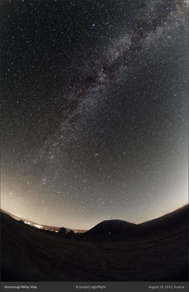 Milky Way above Starlight Oasis Grossmugl by project nightflight