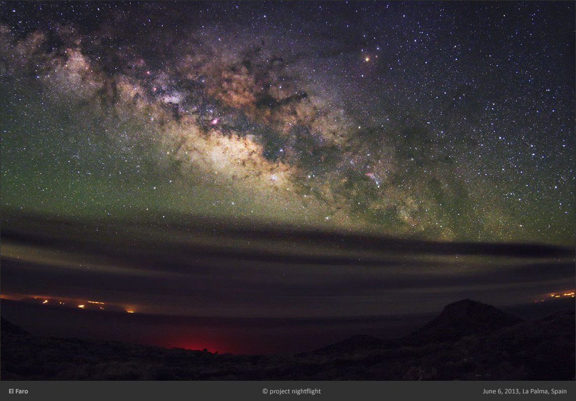 La Palma Milky Way by project nightflight