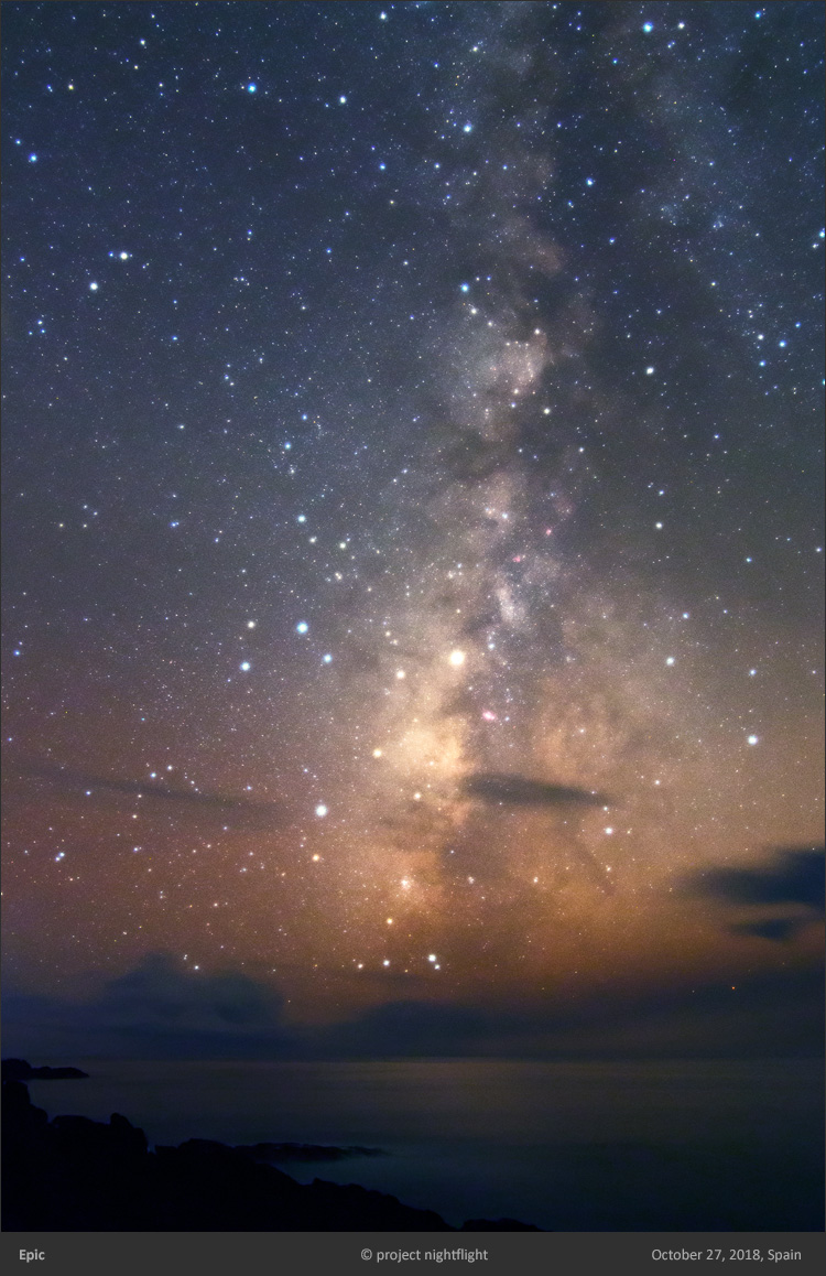 Epic Milky Way at La Palma Island